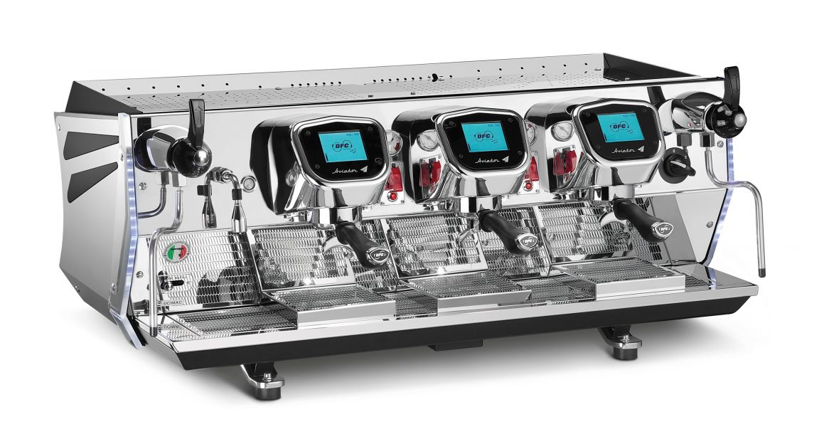 BFC Aviator 3-group espresso machine