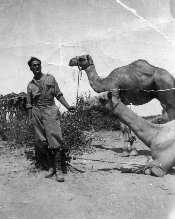 don Sebastiano Caracciolo di Marano in Africa c1930s